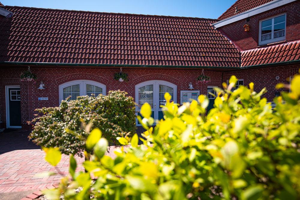 Haus Nordstern - die Einfahrt 2