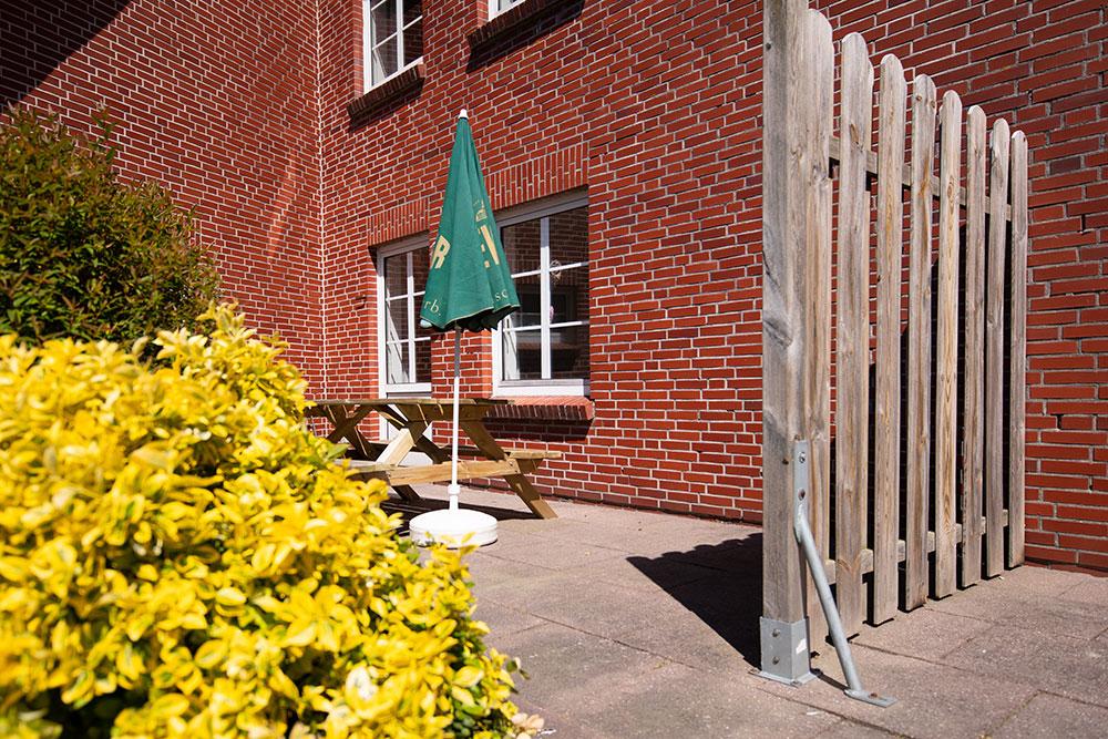 Haus Nordstern - Gäste Terrasse