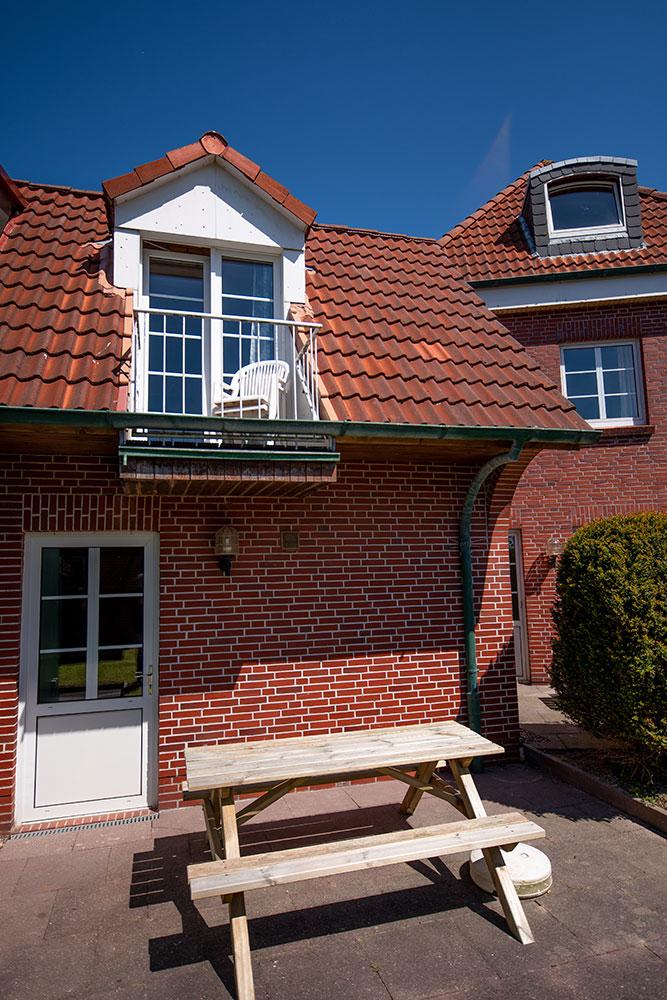 Haus Nordstern - Terrasse oder lieber Balkon?