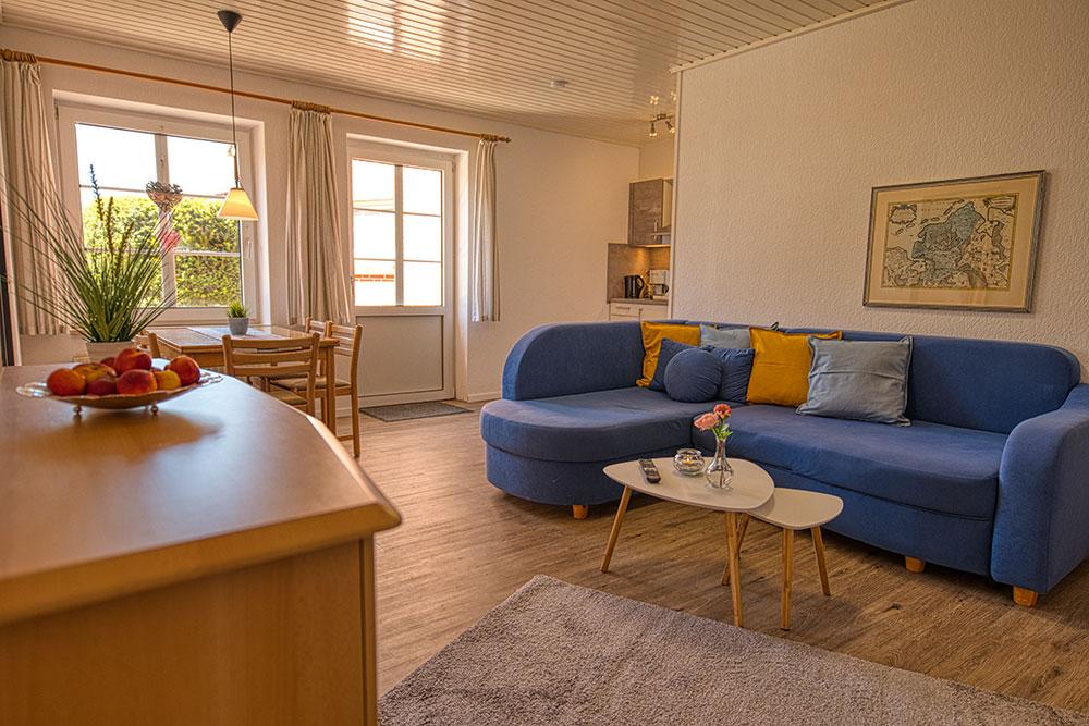 Wohnzimmer Langeoog, Haus Nordstern