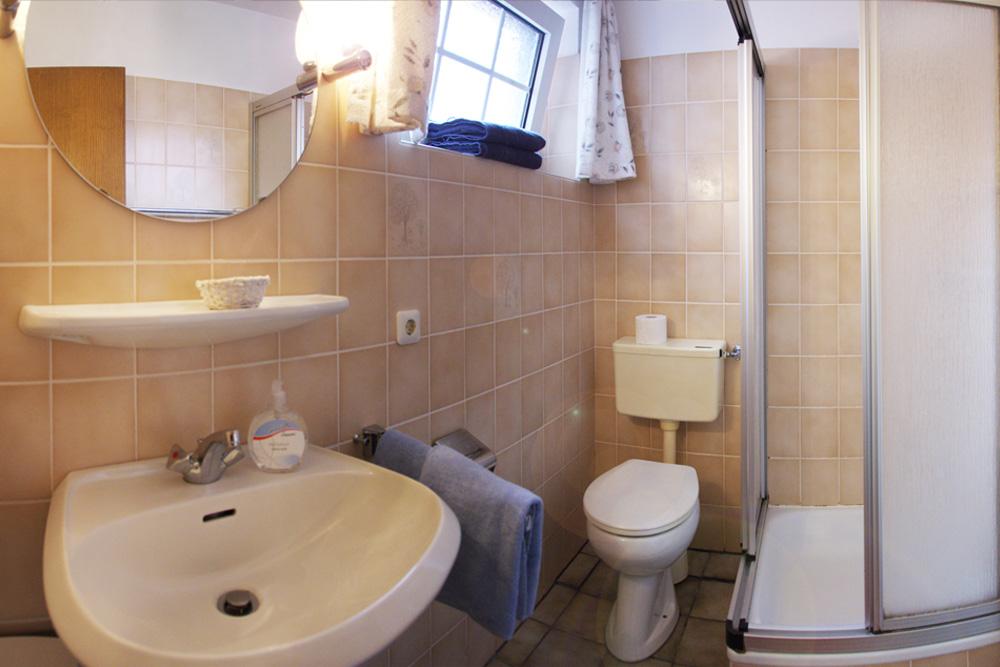 Badezimmer Lütje Hörn, Haus Nordstern