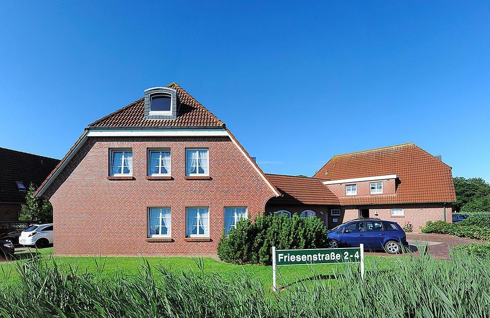 Haus Nordstern Vorderansicht links