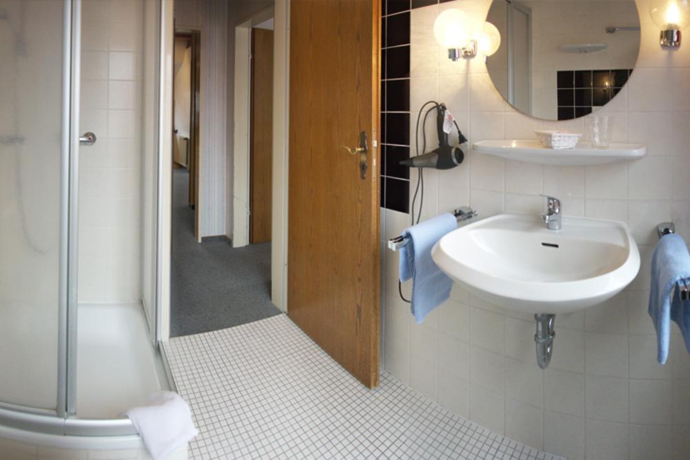 Haus Nordstern Wangerooge - Badezimmer